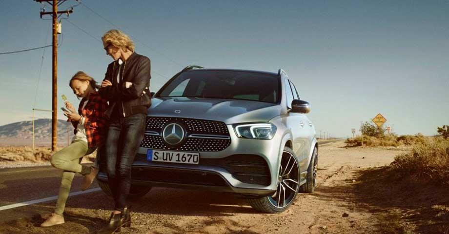 Mercedes-Benz GLE pour relever tous les défis!